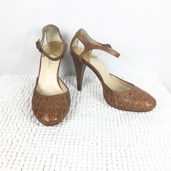 1b015532163 Cole Haan Nike Air Woven Leather Mary Jane Heels
